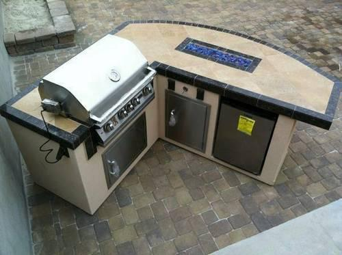 Outdoor Patio Furniture Bbq Islands Barbeque Grills Outlet