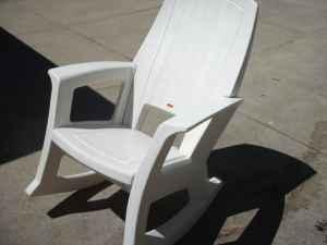 Outdoor+Rubbermaid+Chairs Outdoor Rocking Chair - (Waukesha) for Sale ...