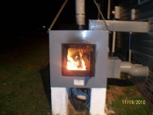 Outside Wood Furnace Forced Air System For Sale In Butler