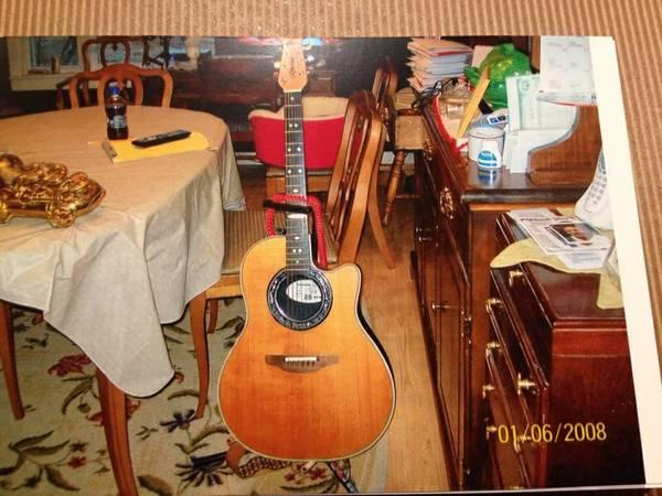 Ovation Guitar For Sale In Richville New York Classified