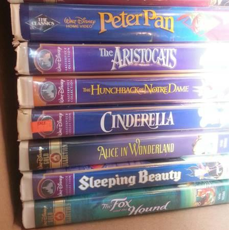 OVER 30 DISNEY VHS MUST BE GONE BY FRIDAY - $20