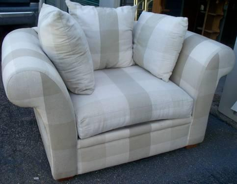 Oversized Chair Rowe Furniture Sofa Express For Sale In