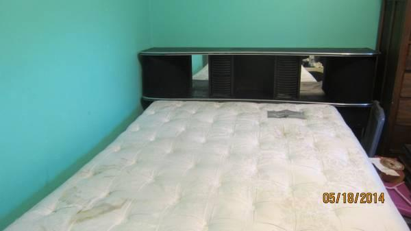 Oversized double bed/mattress - $75