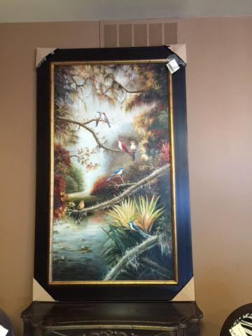 Oversized Painting - Aviary