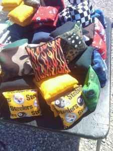 Owensboro corn hole bags canvas bean bags - $20 Owensboro, Kentucky