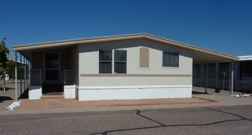 owner financing avalilable on mobile home in senior community for sale in phoenix arizona
