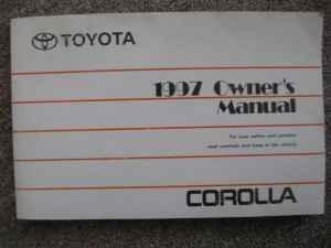 owners manual for 1997 toyota corolla oxnard for sale in ventura rh ventura ca americanlisted com toyota corolla 1998 service manual free toyota corolla 1998 service manual pdf