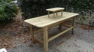 OYSTER SHUCKING TABLE FOR SALE - $350 (Charleston SC)