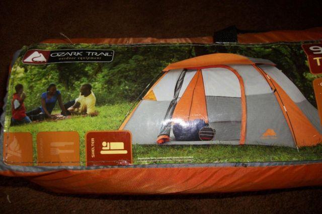 Ozark Trail 9' x 8' Dome Tent