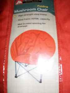 Ozark Trail Folding Chair! Orange Color!