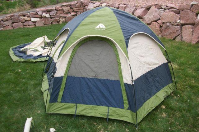 Ozark Trail Weatherbuster 9 Person Dome Tent