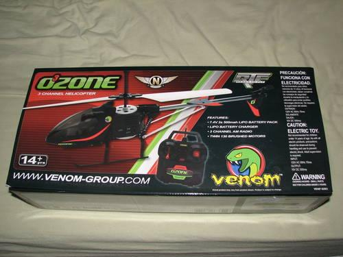 OZONE 3 CHANNEL HELICOPTER NEW IN BOX