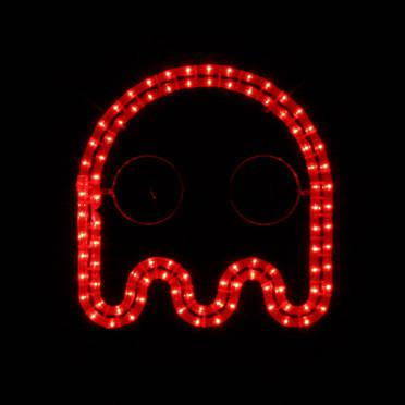 Pac-Man Arcade Rope Light Wall Decoration, Video Game, Night Light