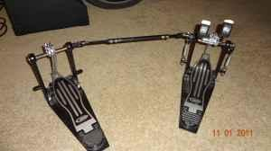 Pacific double bass drum pedals - $99 (Inverness)