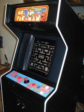 Pacman Ms Pacman Galaga Video Arcade Game With Warranty