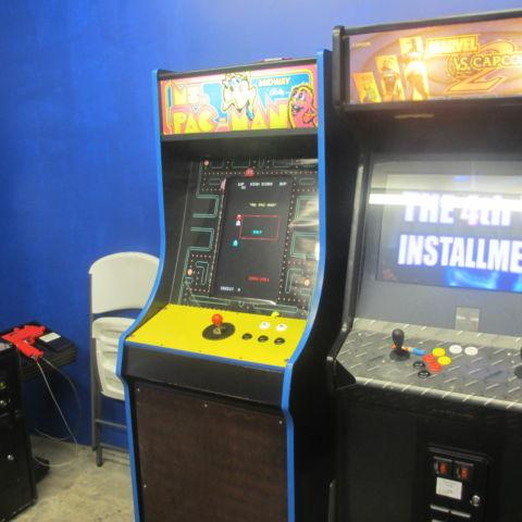 Pacman themed Arcade Multicade Home use