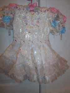PAGEANT DRESS - $95 (SACRAMENTO, CA)