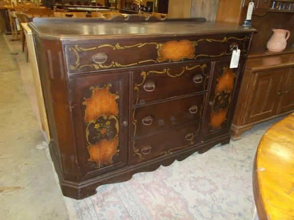 Paint Decorated Buffet For Sale In Greenwich Pennsylvania Classified