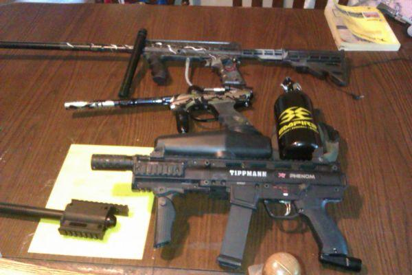 paintball gear for sale - $300 Elkmont