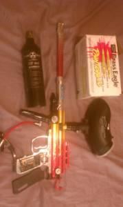 paintball gun - $70 (cordes)
