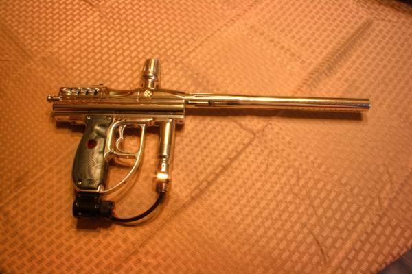 Paintball guns and accessories. Angel, Tippmann - $1
