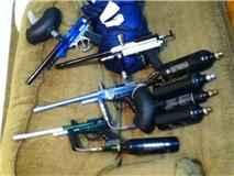Paintball guns and CO2 tanks - for Sale in Jackson, Mississippi