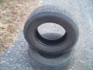 Pair of 245/70/16 tires - $15 (Berwick)