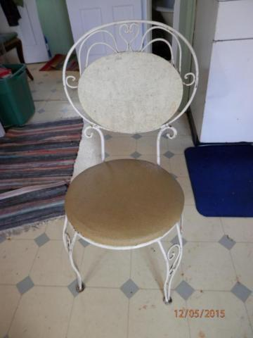 Pair of Antique Ice Cream Parlor Chairs Or Best Offer