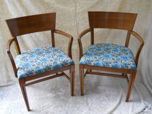 Pair Of Mid Century Modern Armchairs For Sale In Minneapolis Minnesota Classified