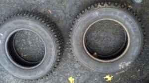 Pair of Studded Snow Tires For Sale!! - $70 (Glenville)