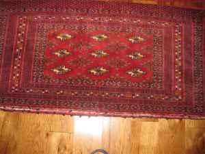 Pair Of Turkoman Rug Large Poshti Large Pillow Bags