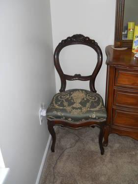Pair Of Victorian Balloon Back Side Chairs