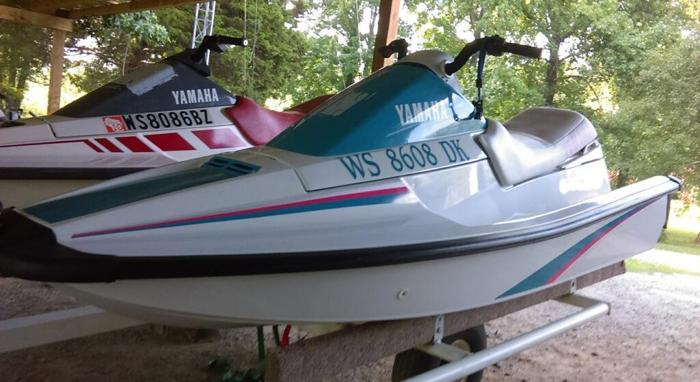 Pair Yamahas Dual Trailer
