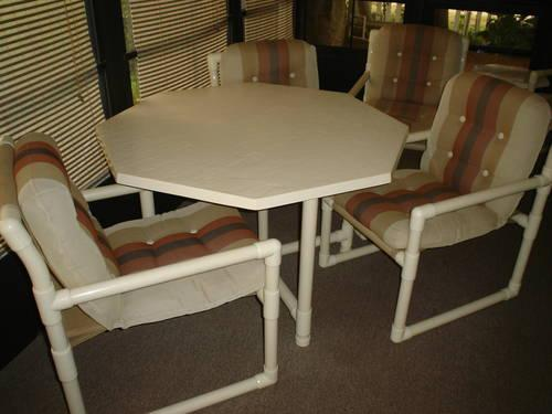 Palm Casual Almond Pipe Furniture In Great Condition For Sale In Davenport Florida Classified