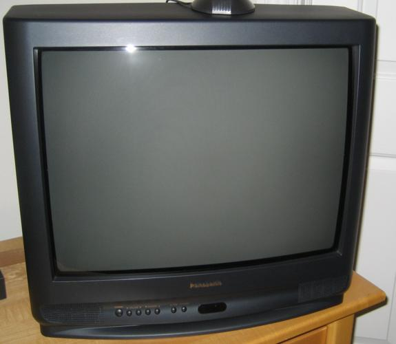 "Panasonic 21"" Color TV"