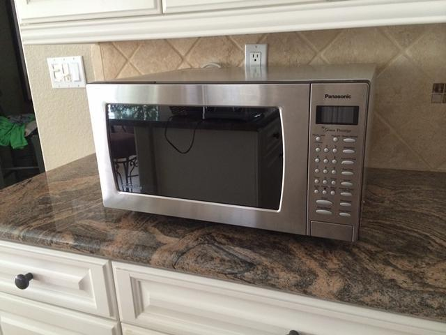 Panasonic Genius Prestige 1 2 Cu Ft Microwave For Sale