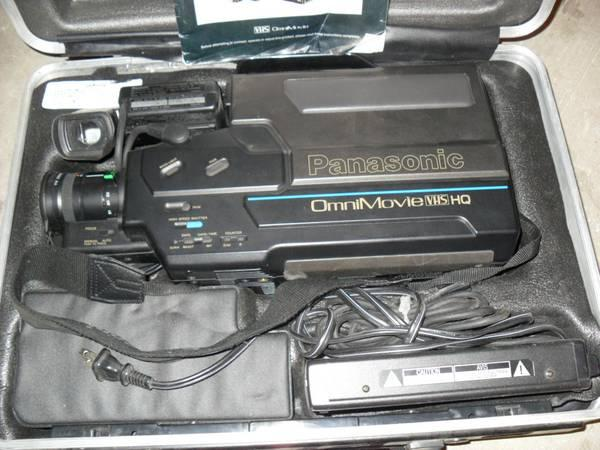 PANASONIC OMNIMOVIE VHS VIDEO RECORDER PV-320 - $20