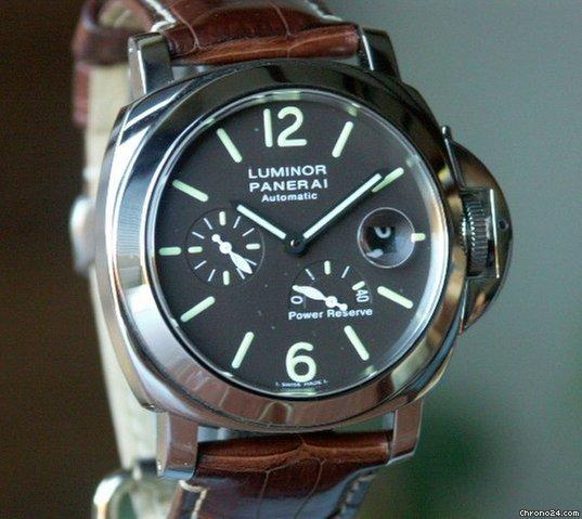 Panerai PAM 211 Power Reserve Polished Stainless Steel