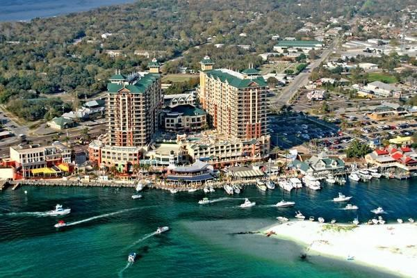 Panoramic views of the emerald coast