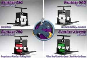 panther bat rolling machine
