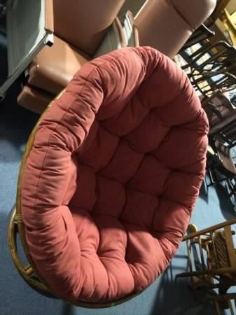 papasan swivel rocking chair for sale in alma georgia