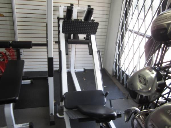 Parabody Leg Press Hack Squat Machine For Sale In Orange