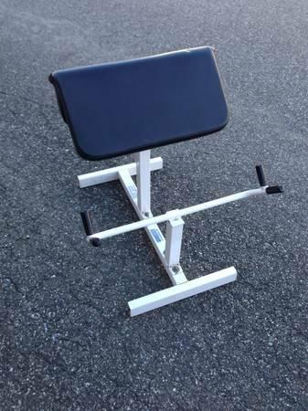 Parabody Preacher Curl Bench Quot Serious Steel Quot For Sale In