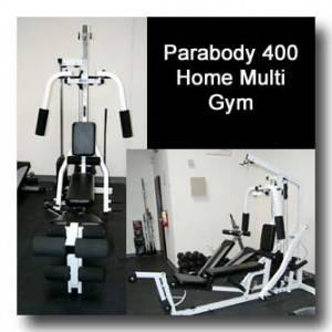 Parabody Serious Steel 400 Home Gym Pre Owned For Sale