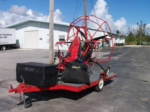 parachute plane paraplane with trailer for sale in fort pierce florida classified. Black Bedroom Furniture Sets. Home Design Ideas