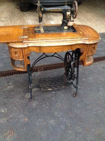 Paragon Treadle Sewing Machine For Sale In Hudson Ohio