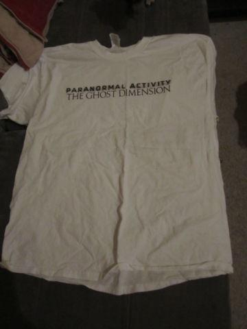Paranormal Activity - The Ghost Dimension tshirt, size
