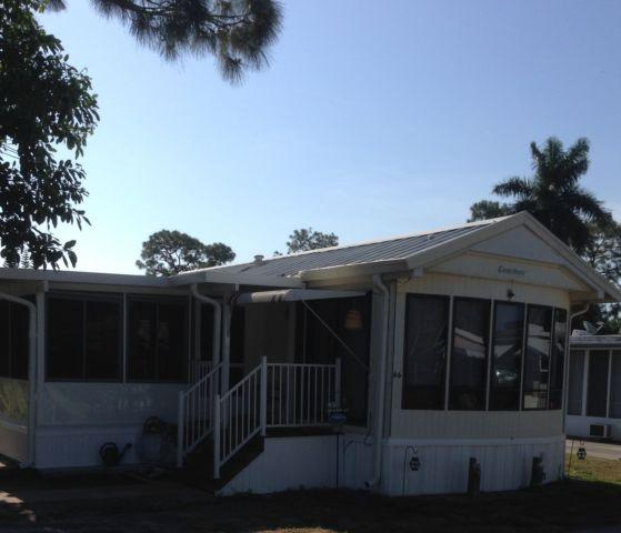 Park Model RV 2 BR Home with New Florida Room