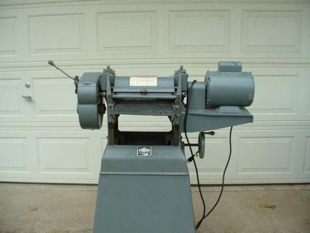 Parks Thickness Planer for sale or trade. for Sale in