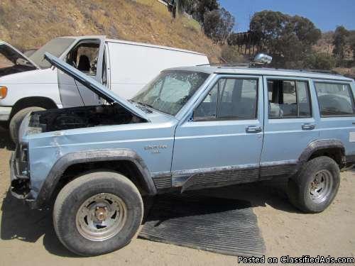 1989 jeep cherokee for sale california